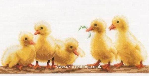 Young Ducklings Cross Stitch Kit